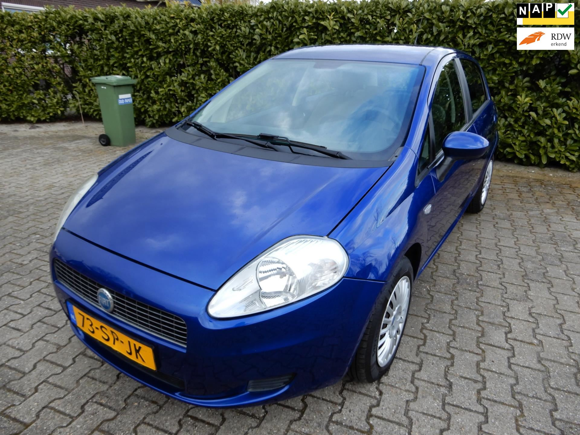 Fiat Grande Punto occasion - Autobedrijf Nieuwbroek
