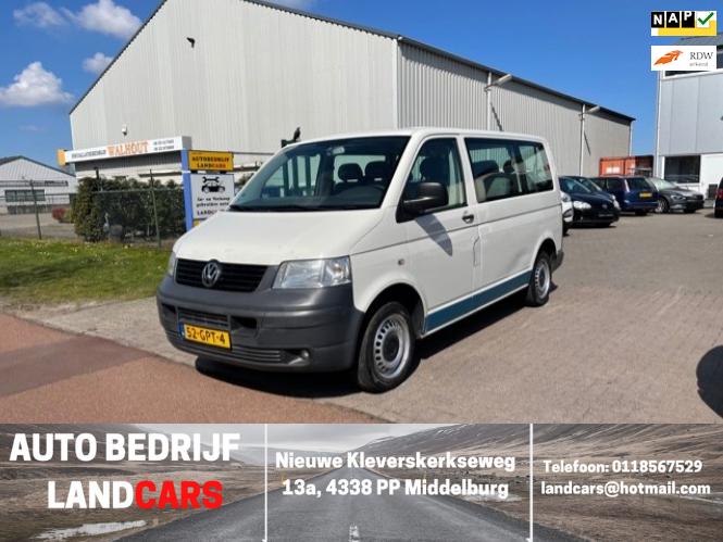 Volkswagen Transporter Kombi occasion - Land Cars Middelburg