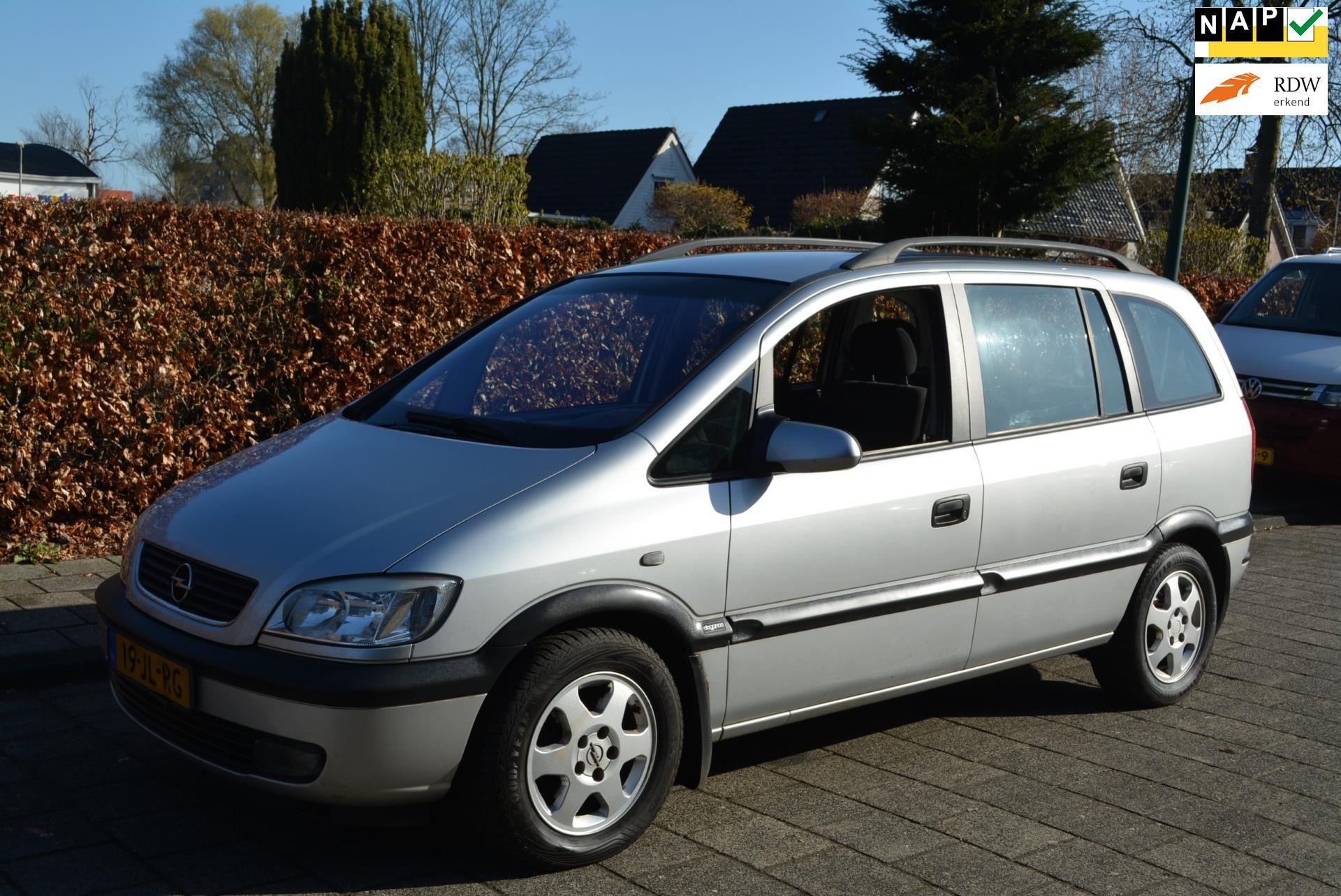 Opel Zafira occasion - Autobedrijf Kiewiet (Auto 25)
