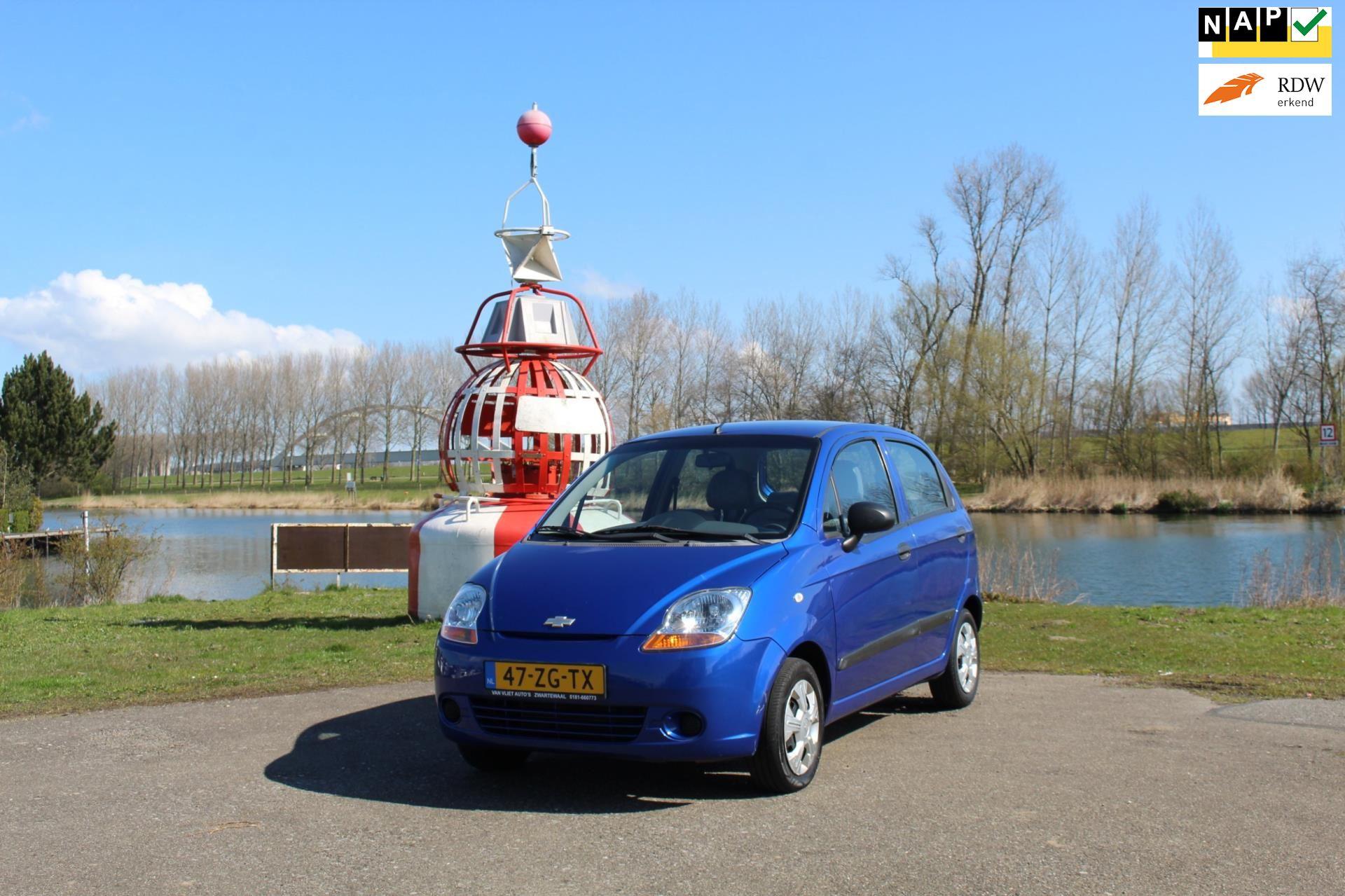 Chevrolet Matiz occasion - Van Vliet Auto's