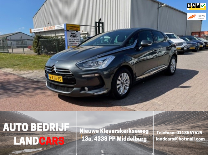 Citroen DS5 occasion - Land Cars Middelburg