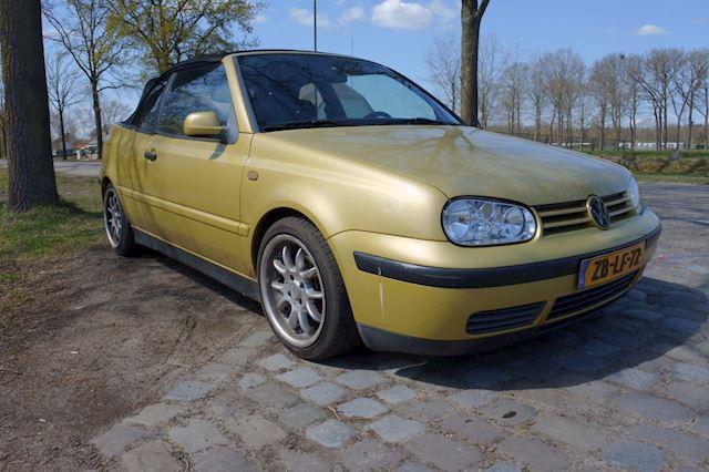 Volkswagen Golf Cabriolet 1.8 Trendline apk tot 18-1-2022