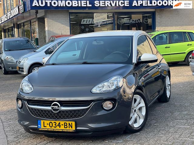 Opel ADAM 1.4 Glam*SPORT ONDERSTEL/STOELEN*AIRCO*STOEL VERW*MF STUUR*AUX*CRUISE .CONTR*LM.VELGEN