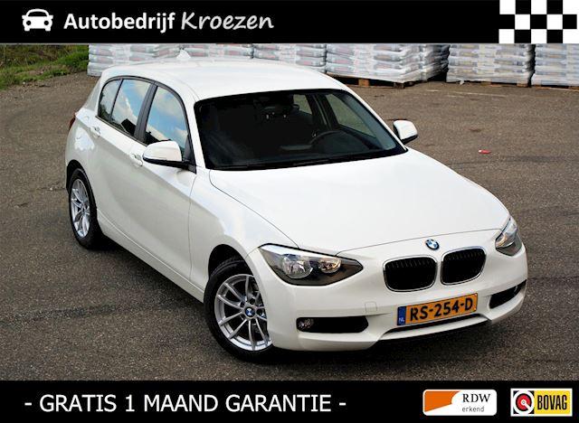 BMW 1-serie occasion - Autobedrijf Kroezen