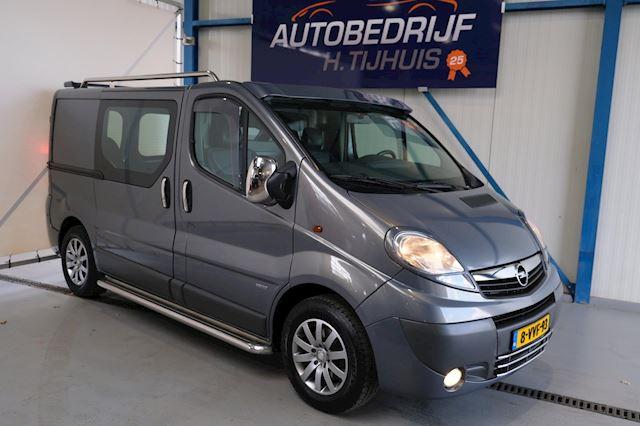 Opel Vivaro 2.0 CDTI L1H1 EcoFLEX - N.A.P. 2x schuifdeur, Airco, Cruise, Navi,  PDC, Trekhaak.
