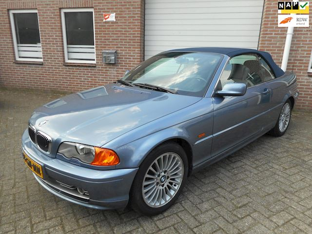 BMW 3-serie Cabrio 330Ci Executive clima cruise control