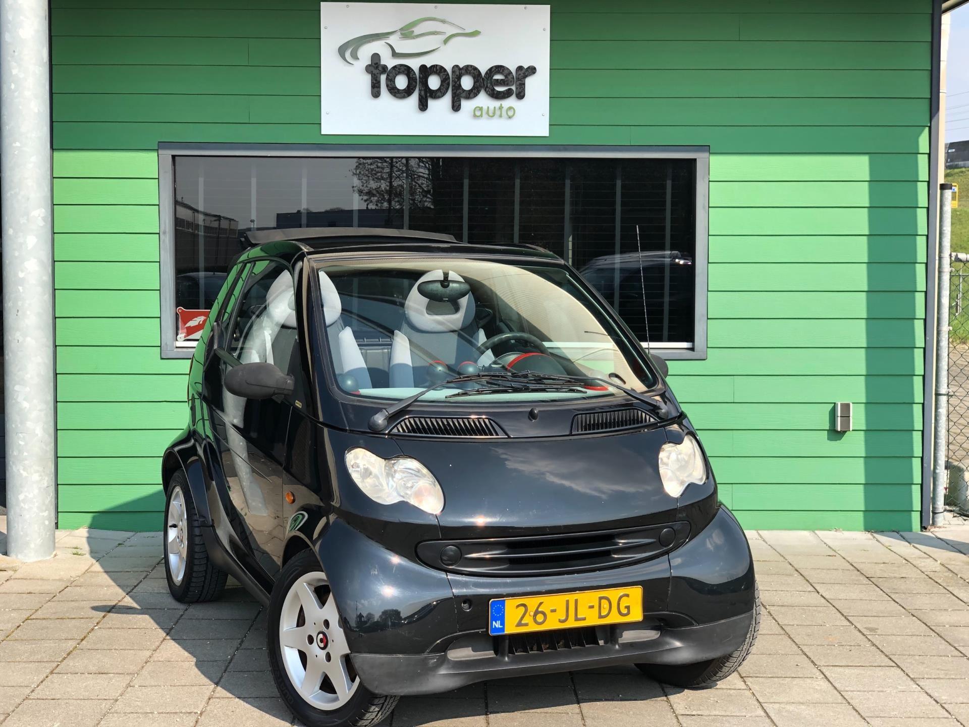 Smart Cabrio occasion - Topper Auto