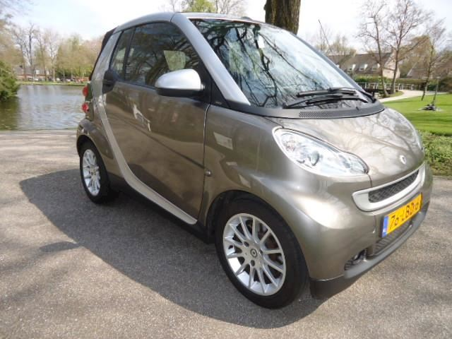 Smart Fortwo cabrio 1.0 mhd Passion Cabriolet Airco slechts 85.394 km !