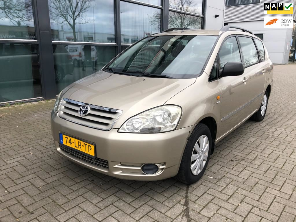 Toyota Avensis Verso occasion - Pascal Traa