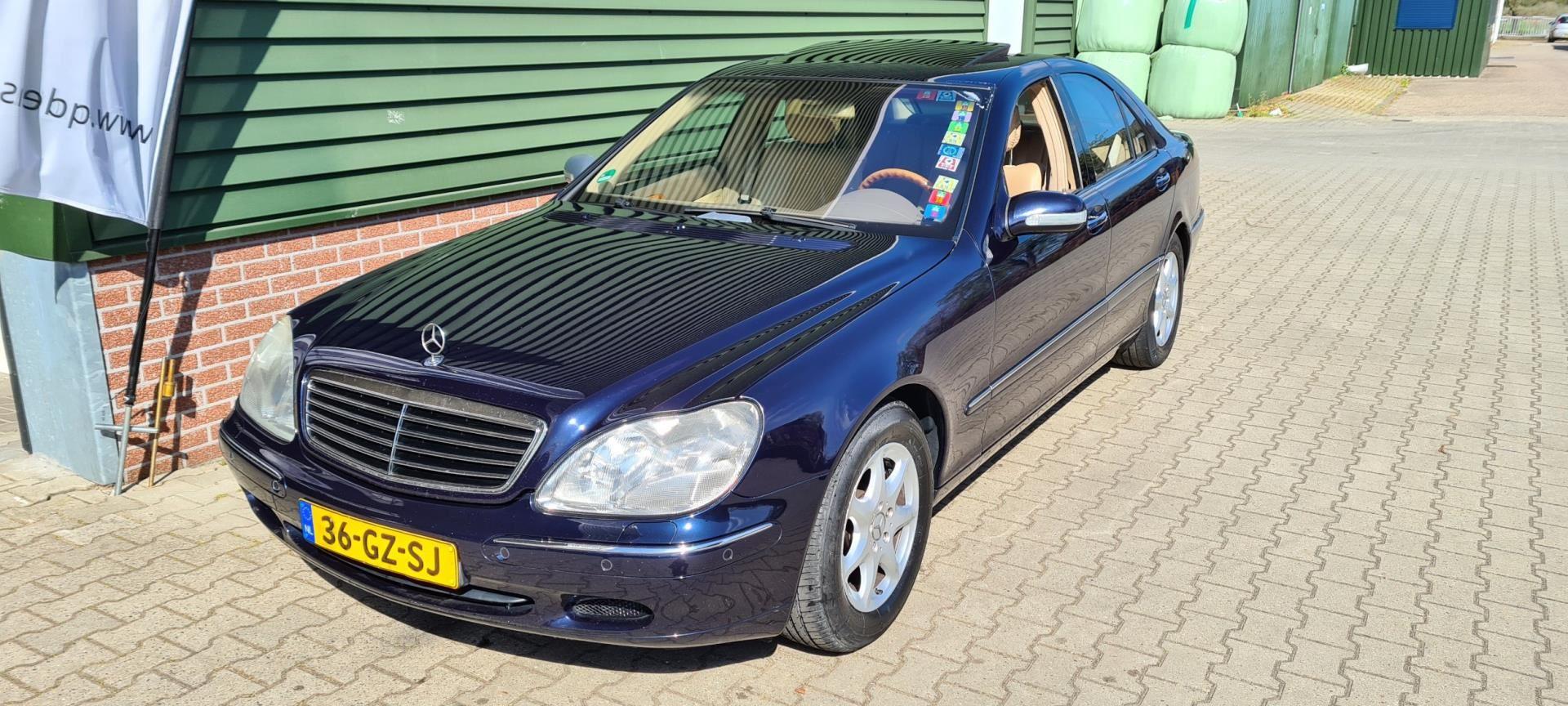 Mercedes-Benz S-klasse occasion - Quality Design & Services