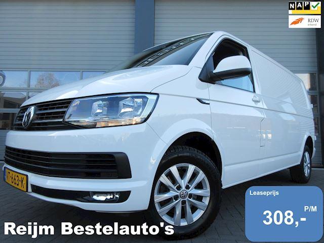 Volkswagen Transporter 2.0tdi L2 140pk Automaat met Airco, Navigatie, Cruise, 3zits, PDC