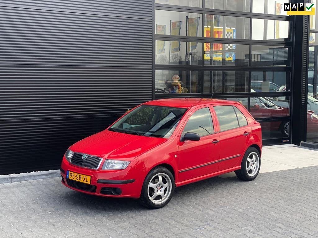 Skoda Fabia occasion - Pitstop Car Trading