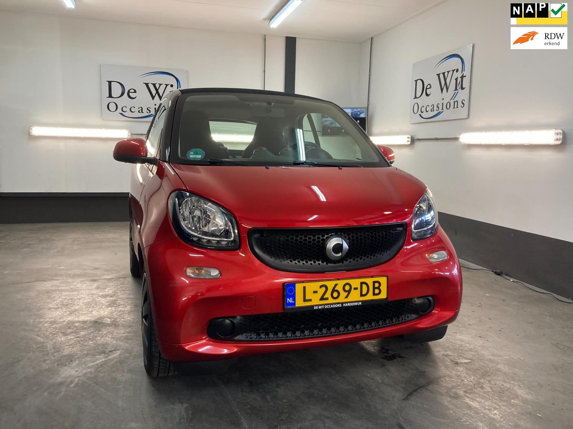 Smart Fortwo occasion - De Wit Occasions
