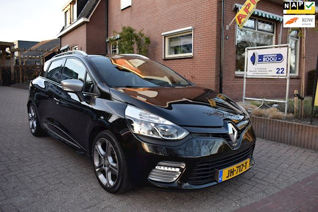Renault Clio Estate 1.2 GT/AUTOMAAT/AIRCO/CRUISE/NAVI/PDC/CAMERA/TREKHAAK/NETTE STAAT!