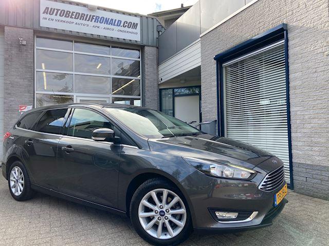 Ford Focus Wagon 1.0 Titanium Edition NL.Auto/125Pk/Navigatie/Cruise/Clima/17Inch/1Ste Eigenaar