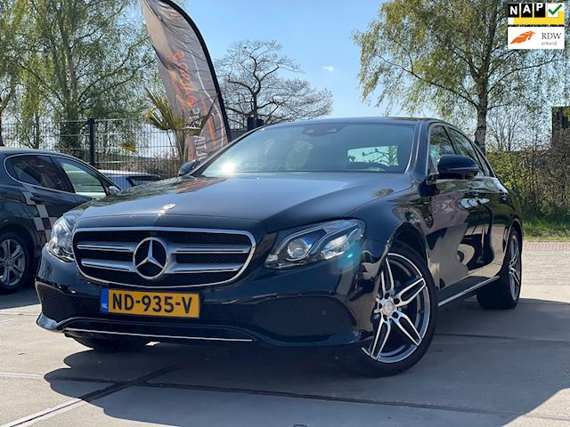 Mercedes-Benz E-klasse 220 d Prestige Plus Dealer Onderhouden Nap 360 camera