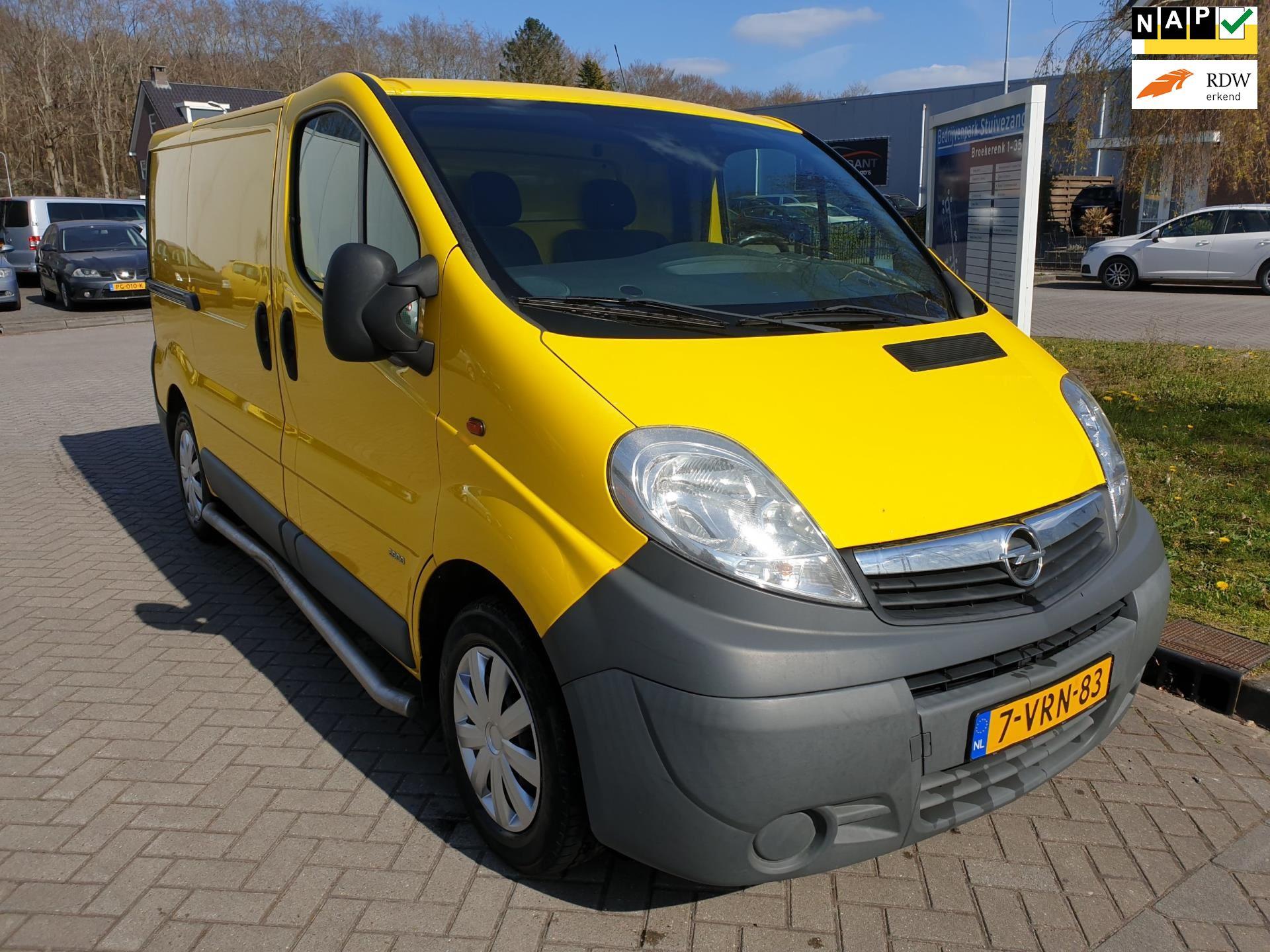 Opel Vivaro occasion - v.d. Weg Auto's