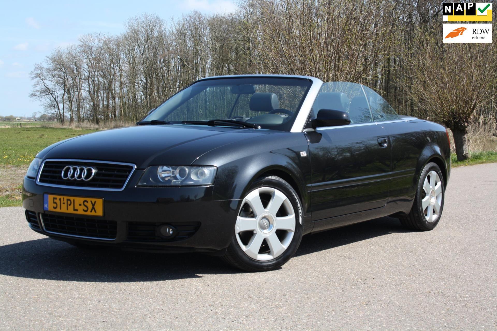 Audi A4 Cabriolet occasion - Favoriet Occasions