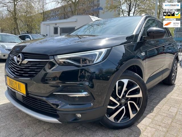 Opel Grandland X 1.2 Turbo Ultimate Navi/Camera/Leer/El Klep
