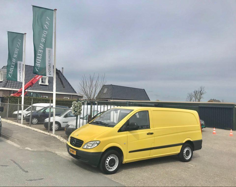 Mercedes-Benz Vito occasion - Van der Weijden Bedrijfsauto's