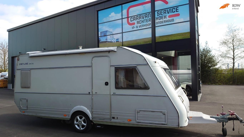 Kip 50GB-TDB Greyline special  mover  voortent 1e eigenaar occasion - Caravan Service Achterhoek