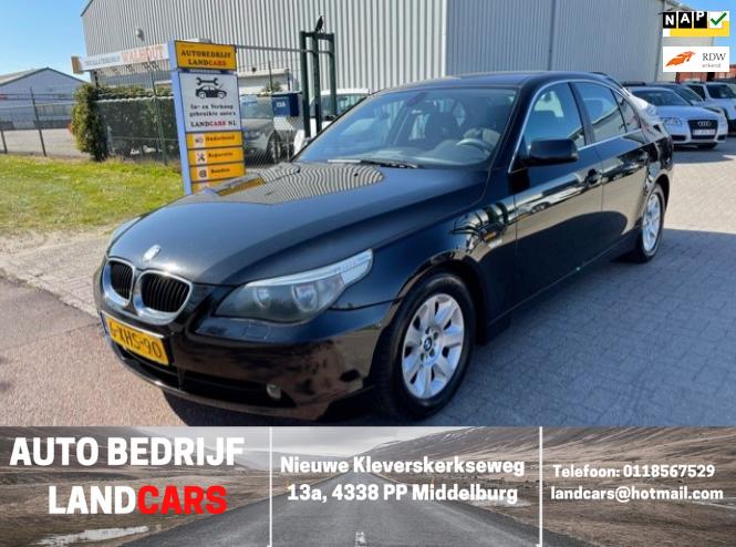 BMW 5-serie occasion - Land Cars Middelburg