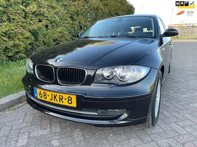 BMW 1-serie 118i Business Line,Bj 2009,Clima,Cruise,5 Deurs,Nieuwe Apk,6 Bak,Parrot,143pk,Lichtmetalen velgen