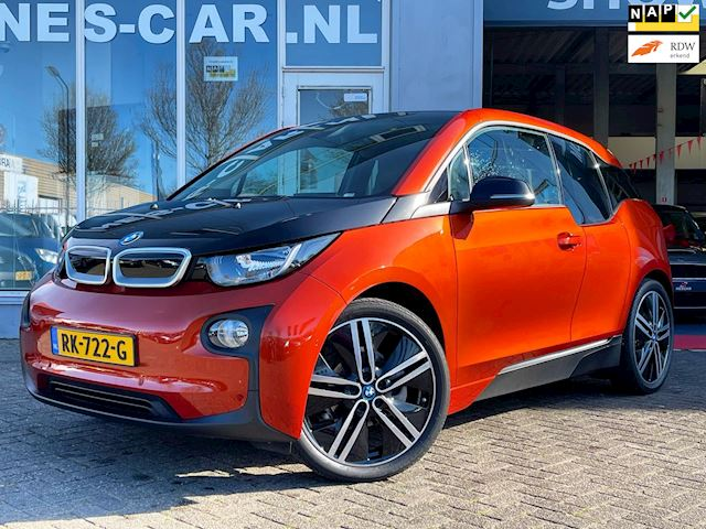 "BMW I3 Navi Pro, ACC, Leder, 20"" LM (8x), Park PDC Basis Comfort Advance 22 kWh NIEUWSTAAT!!"