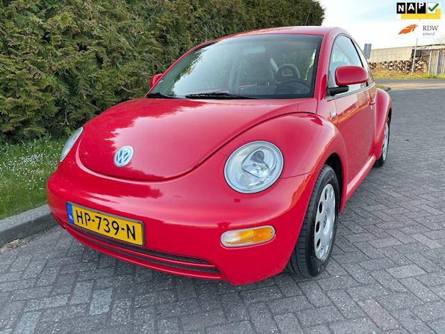 Volkswagen New Beetle 2.0 Highline,Ferrari Rood,Bj 2002,Airco,Elekt.Ramen,Nieuwe Apk