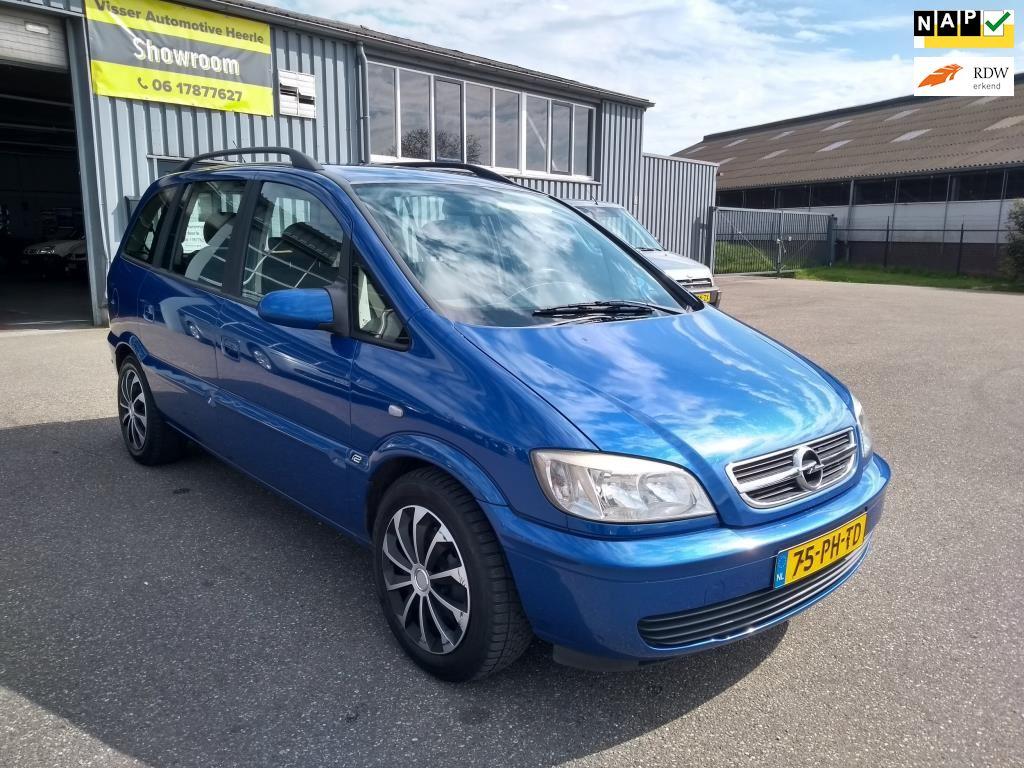 Opel Zafira occasion - Visser Automotive Heerle