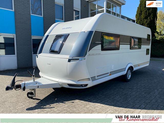 Hobby 560 Kmfe De Luxe Edition de laatste Uit voorraad NU voor !! Stapelbed
