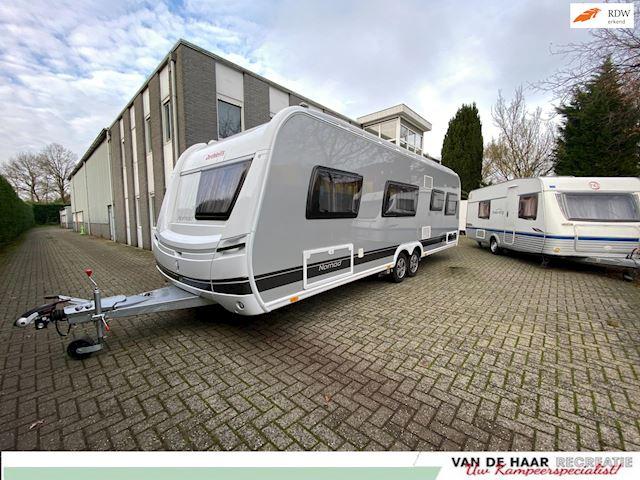 Dethleffs 730 FKR Nieuw Stapelbed mover dakluifel airco