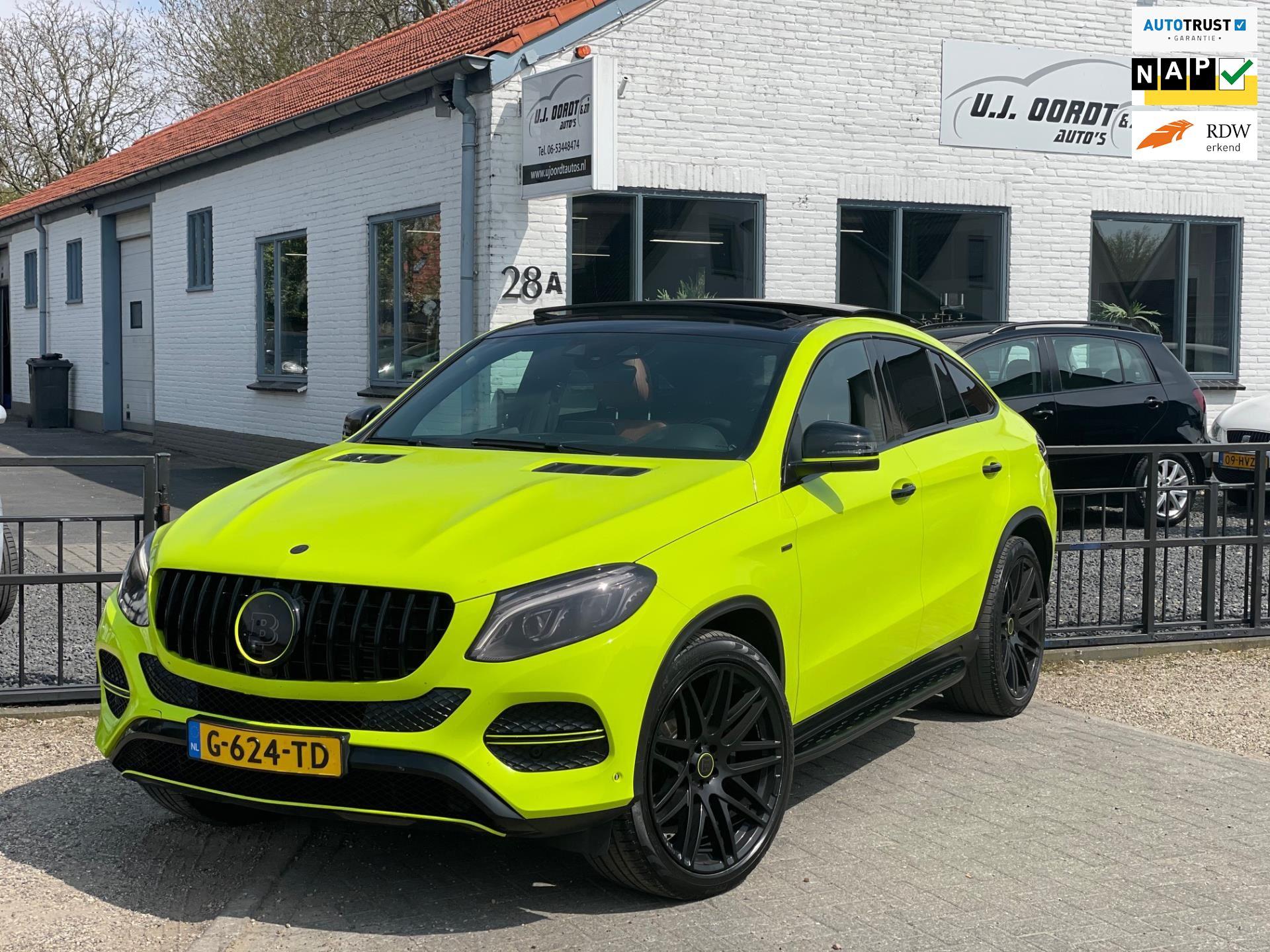 Mercedes-Benz GLE-klasse Coupé occasion - U.J. Oordt Auto's