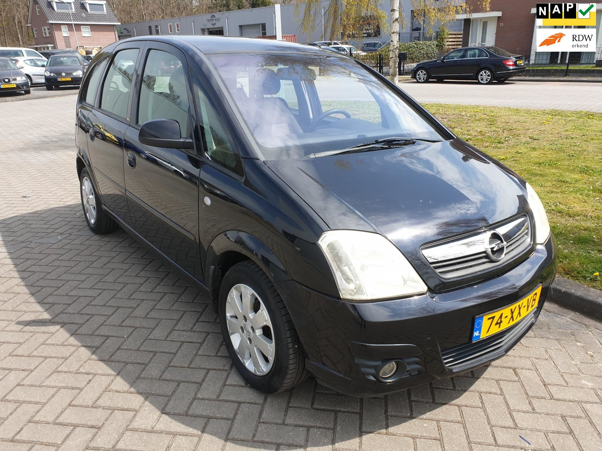 Opel Meriva occasion - v.d. Weg Auto's