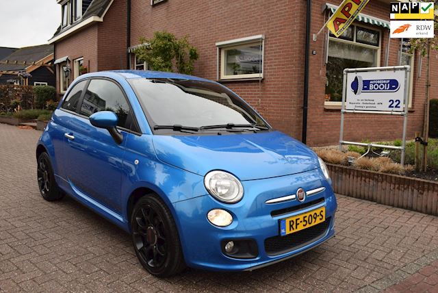 Fiat 500 0.9 TwinAir Turbo 500S /AIRCO/BLUETOOTH/16 INCH/NETTE STAAT!