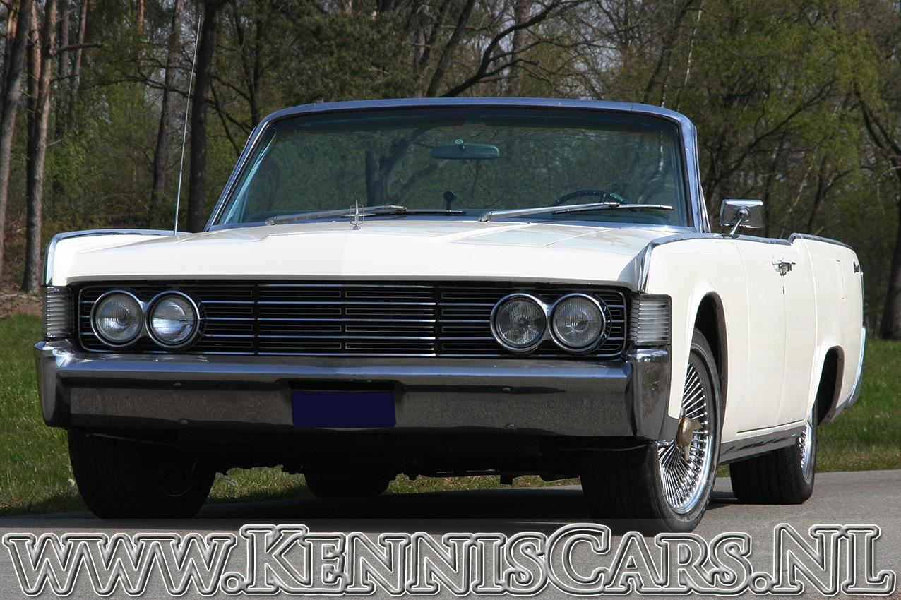 Lincoln 1965 Continental 4 door convertible occasion - KennisCars.nl