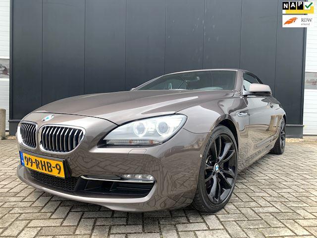 BMW 6-serie Cabrio 640i '11 OrgNl/Aut/Leder/19'Lmv/Camera/Hud/ZrMooi/Nap