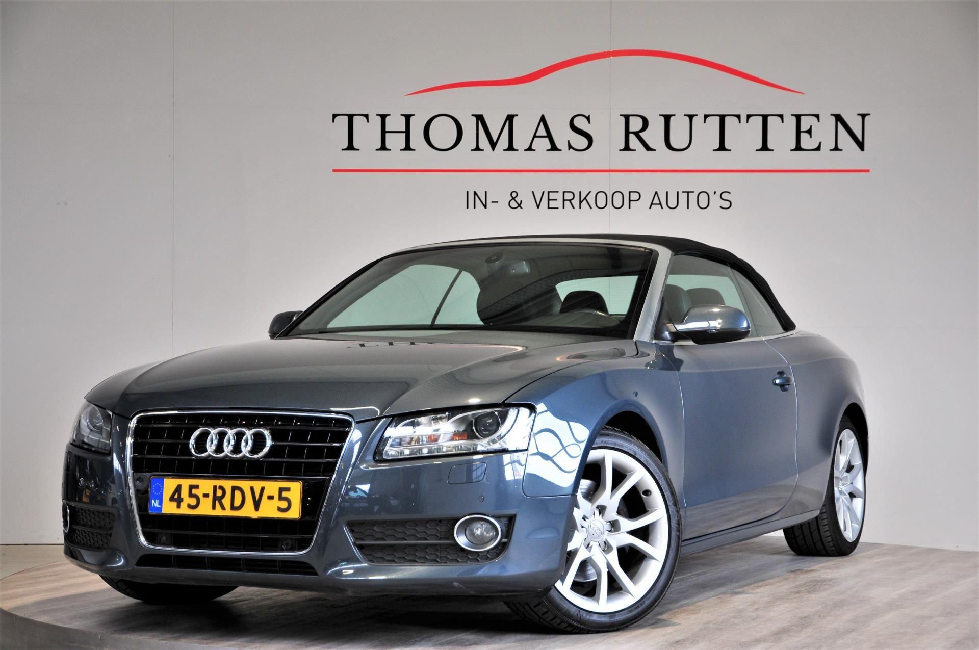 Audi A5 Cabriolet occasion - Autobedrijf Thomas Rutten