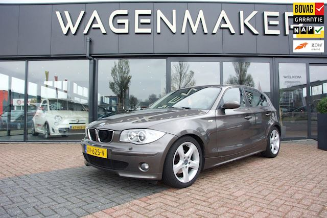 BMW 1-serie 120i Automaat|Clima|Leder|Stoelverw|Goed OH!