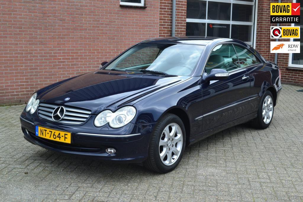 Mercedes-Benz CLK-klasse Coupé occasion - Autoservice. J. van Deursen