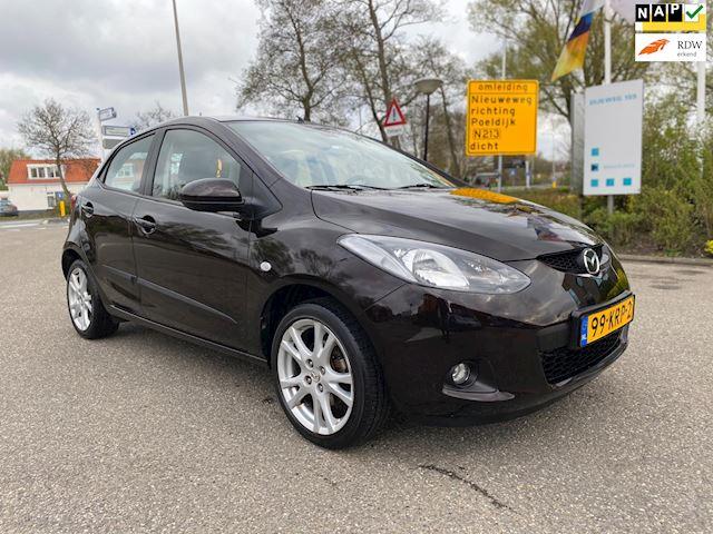 Mazda 2 1.3 TS Plus/ AIRCO / NAVIGATIE / 1E EIGENAAR / ELEC.RAMEN / DEURVERG / LMV / NAP......