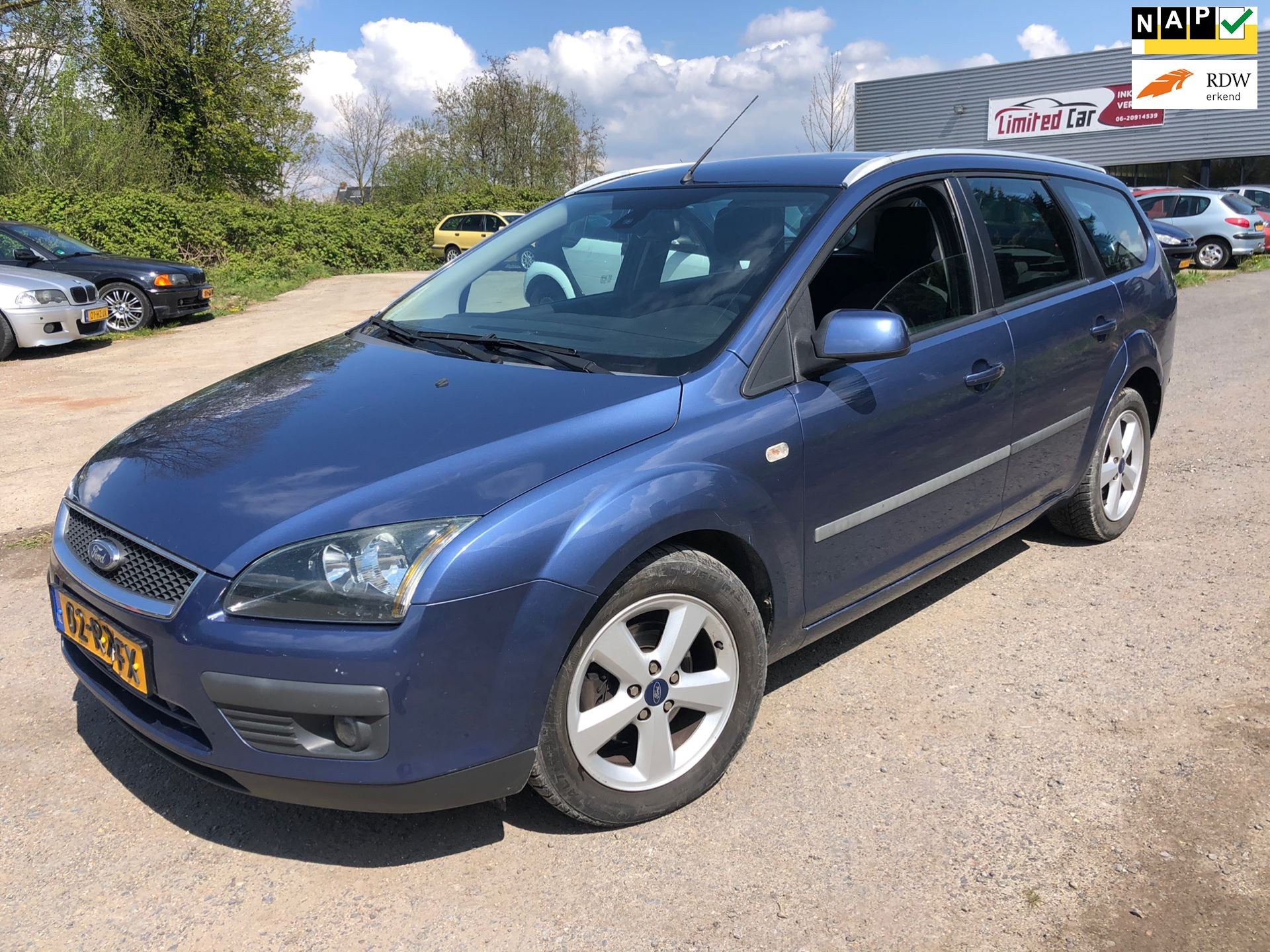 Ford Focus Wagon occasion - Limited Car