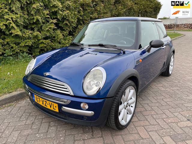 Mini Mini 1.6 One Pepper,Bj 2003,Airco,Lichtmetalen velgen 17'',Nette Auto !