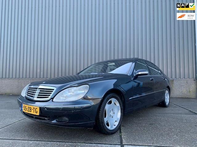Mercedes-Benz S-klasse 600 Lang aut, Schuifdak, Alcantara, Navi