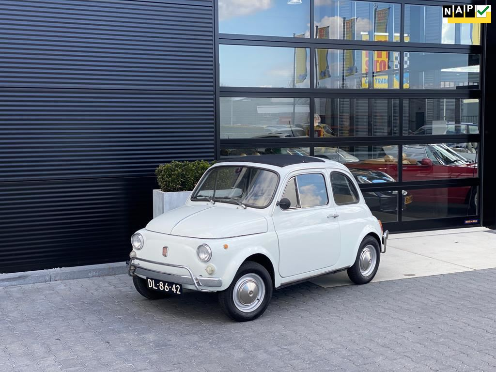 Fiat 500 R occasion - Pitstop Car Trading