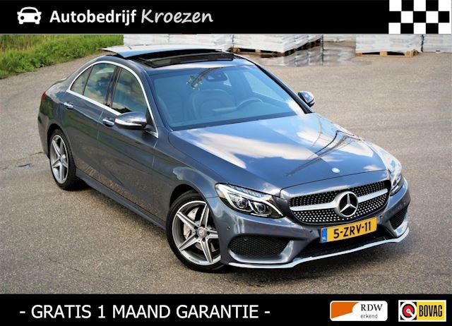 Mercedes-Benz C-klasse 250 Prestige ///AMG Pakket * Org NL Auto * Vol Leder * Panorama dak *