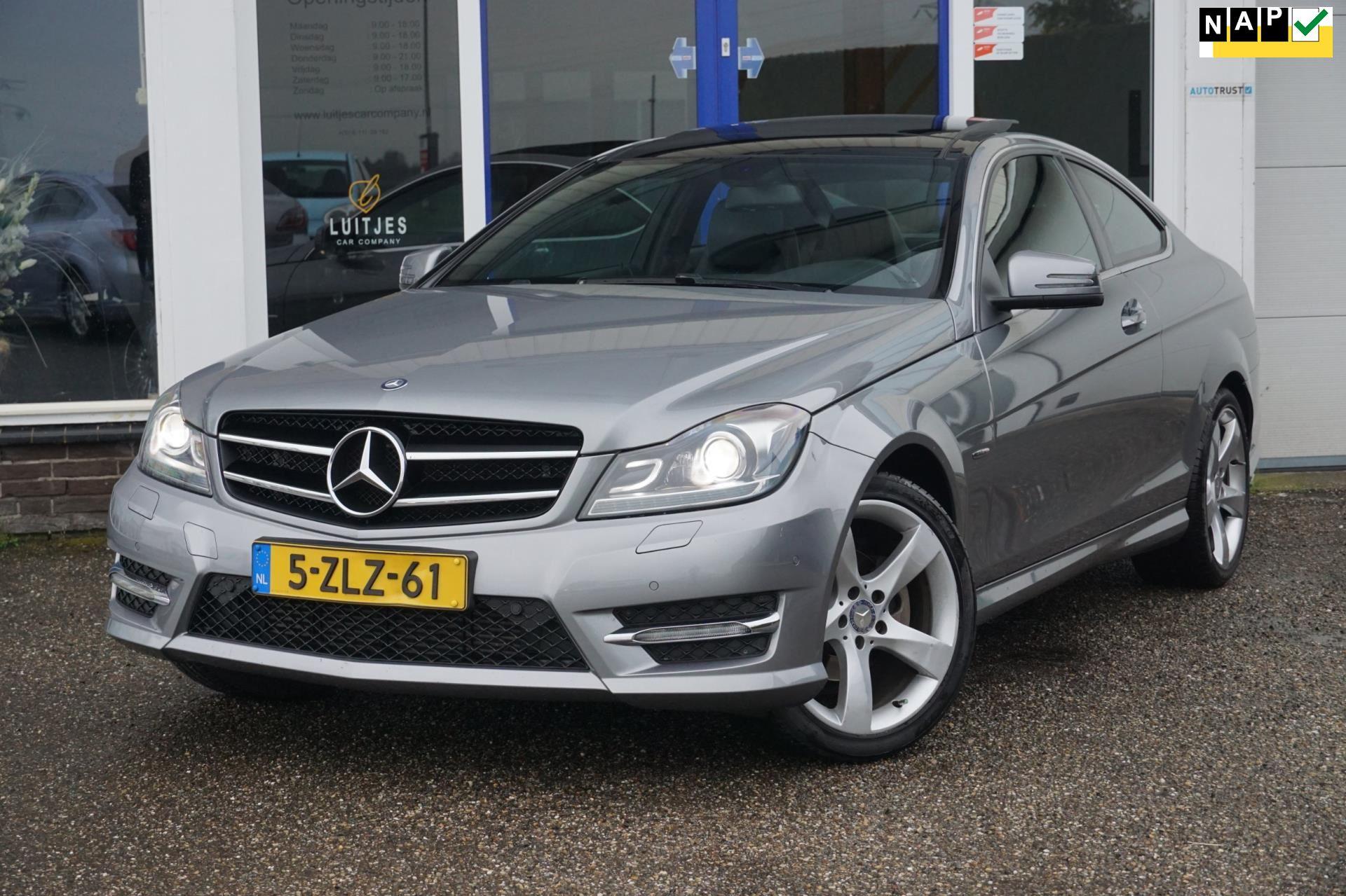 Mercedes-Benz C-klasse Coupé occasion - Luitjes Car Company