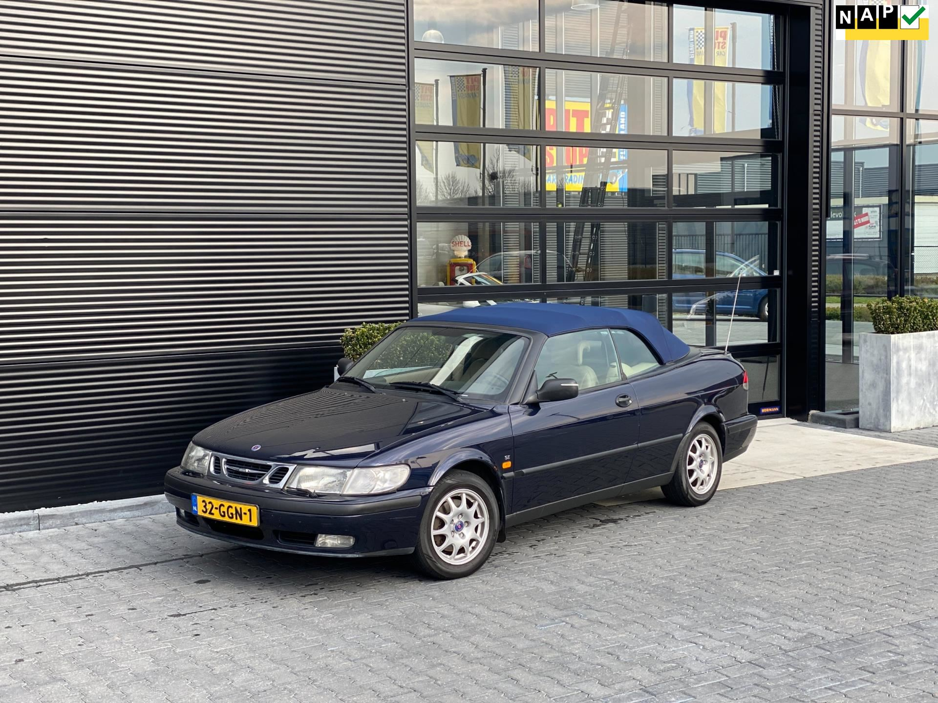 Saab 9-3 Cabrio occasion - Pitstop Car Trading