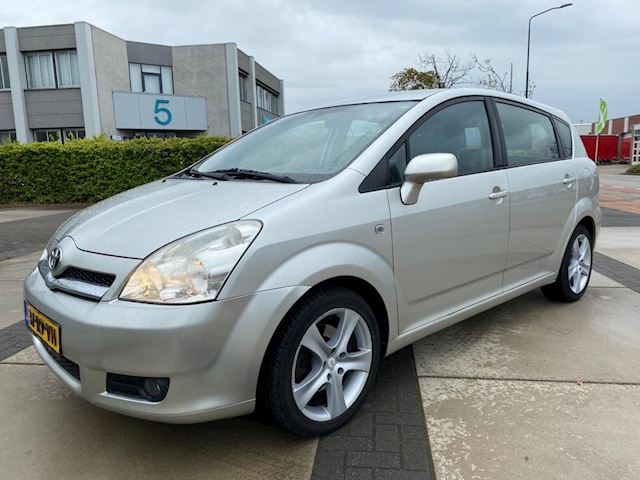 Toyota Corolla Verso 1.8 VVT-i Sol 7p. *CLIMA/NAP/LEDER*