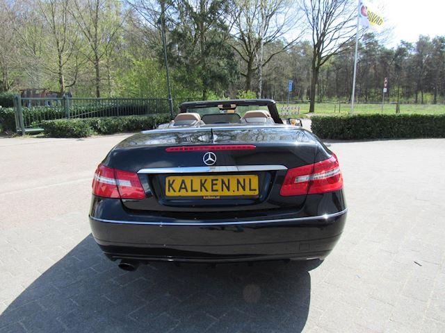 Mercedes E-klasse Cabrio 200 Élégance Zwart Bj2010
